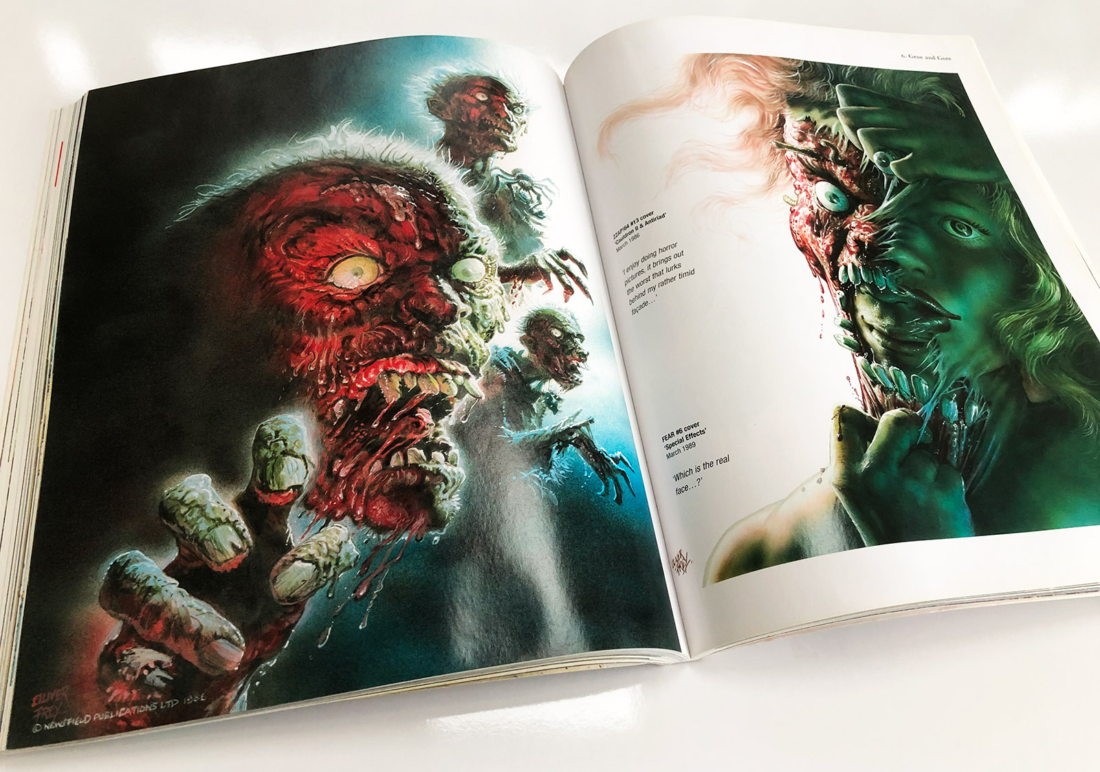 The Fantasy Art of Oliver Frey Art Book Feature!