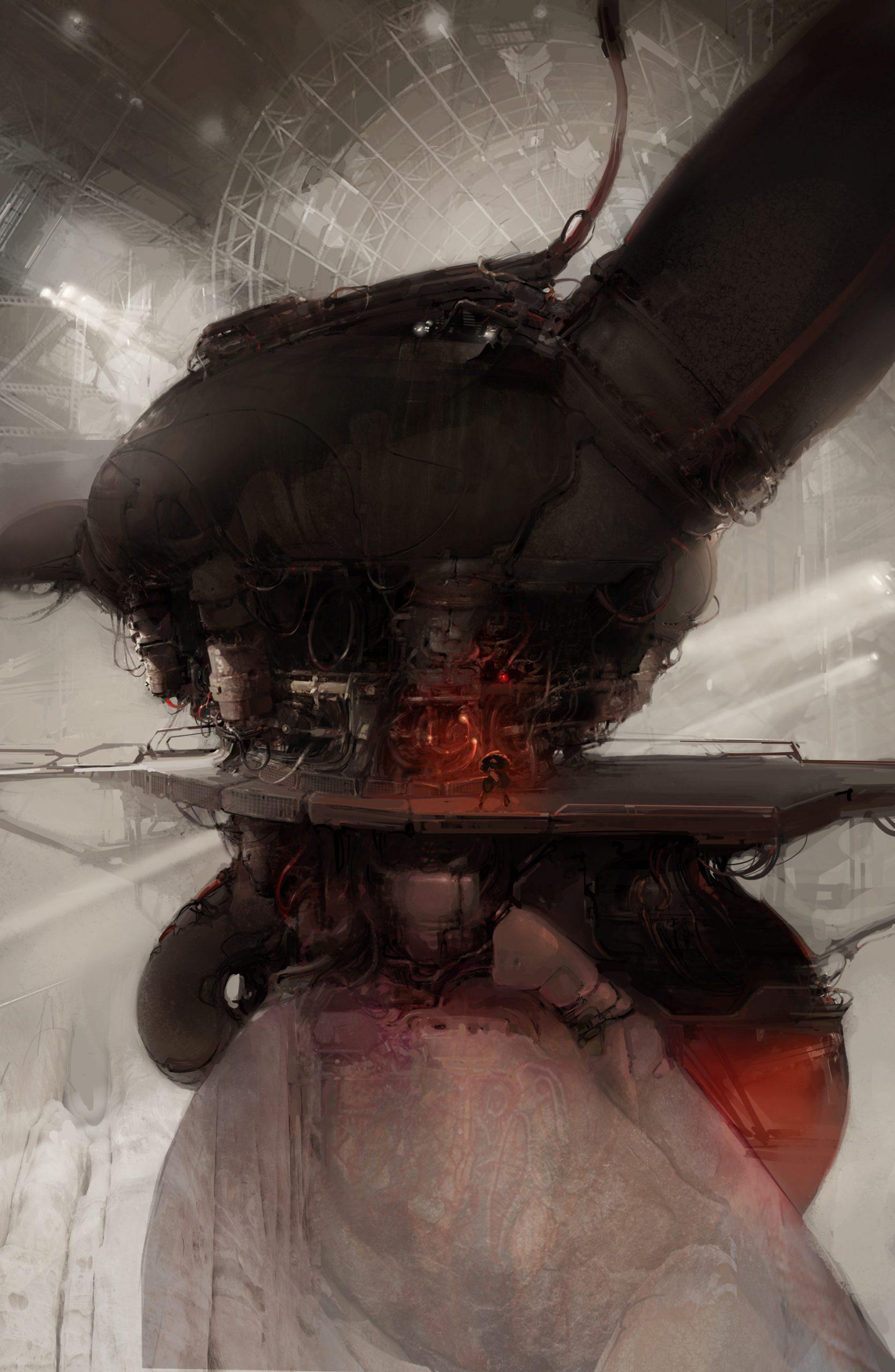 The Beautiful Sci-Fi Art of Branislav Perkovic
