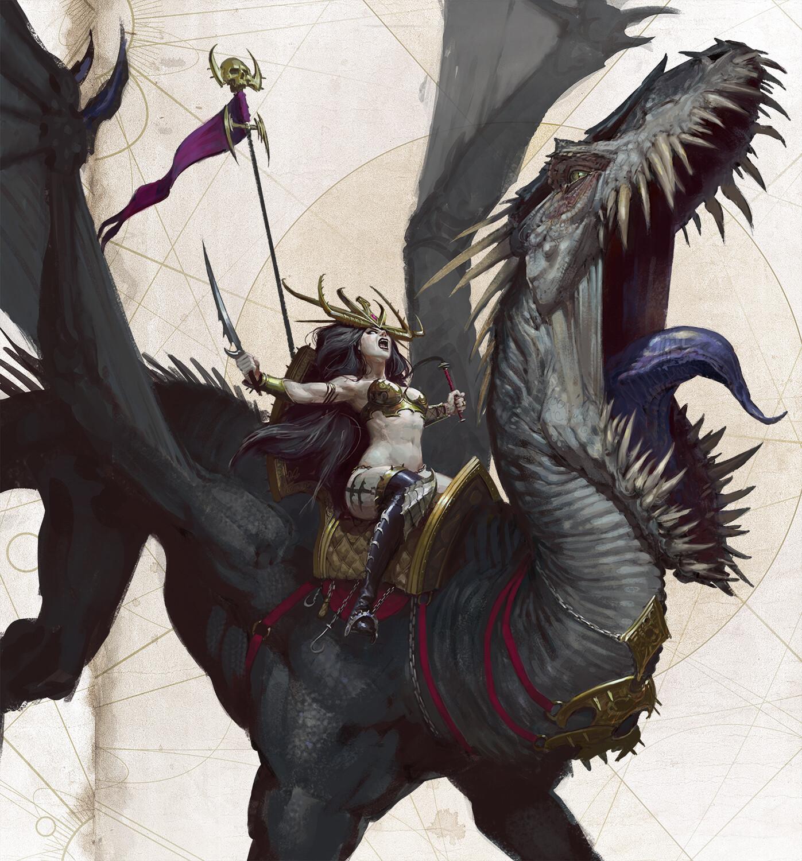 The Dark Sci-Fi Fantasy Art of Thomas Elliott