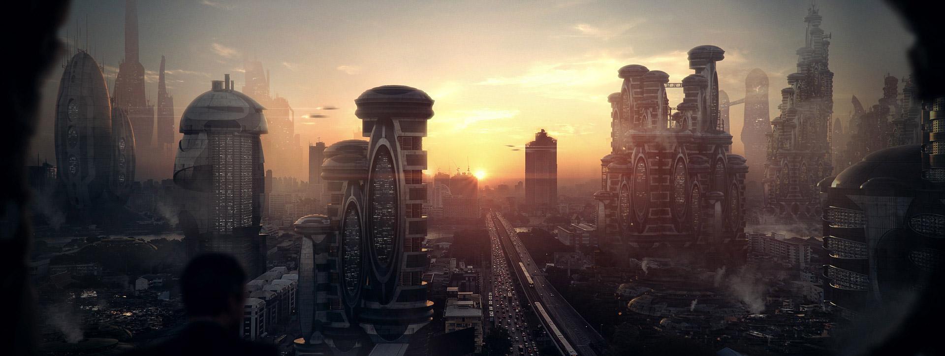 The Cinematic Sci-Fi Art of Michael Johnson