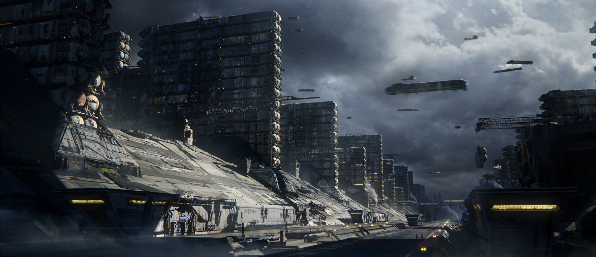 The Science Fiction Concept Art of Victor Dufayard