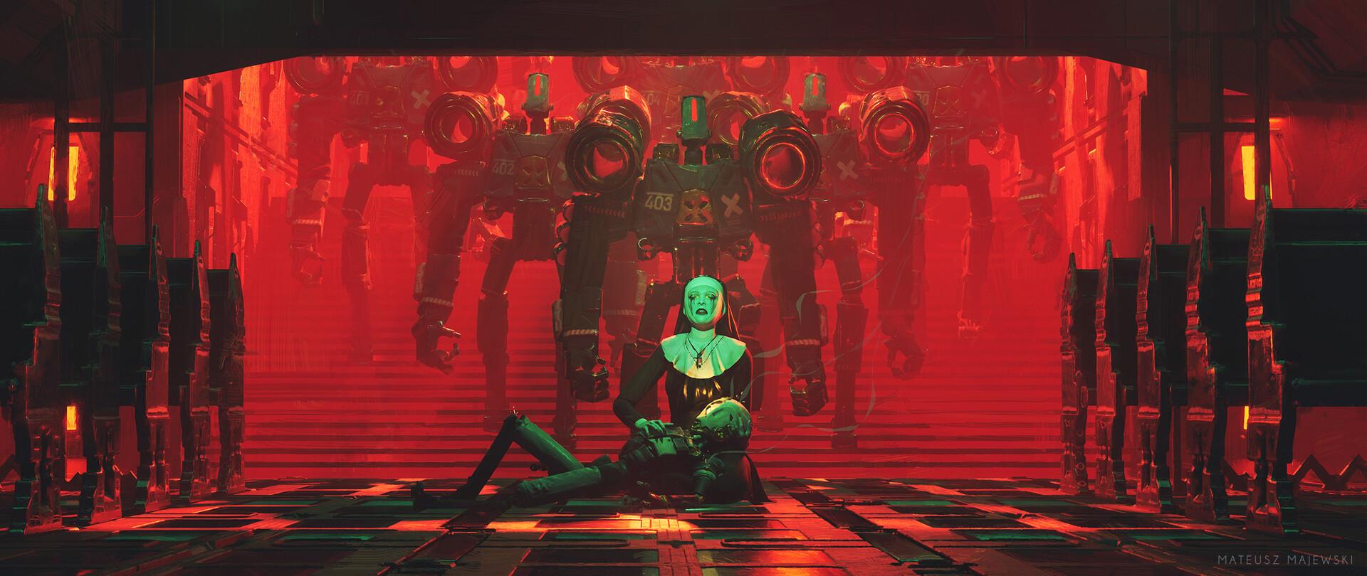 The Digital Sci-Fi Art of Mateusz Majewski