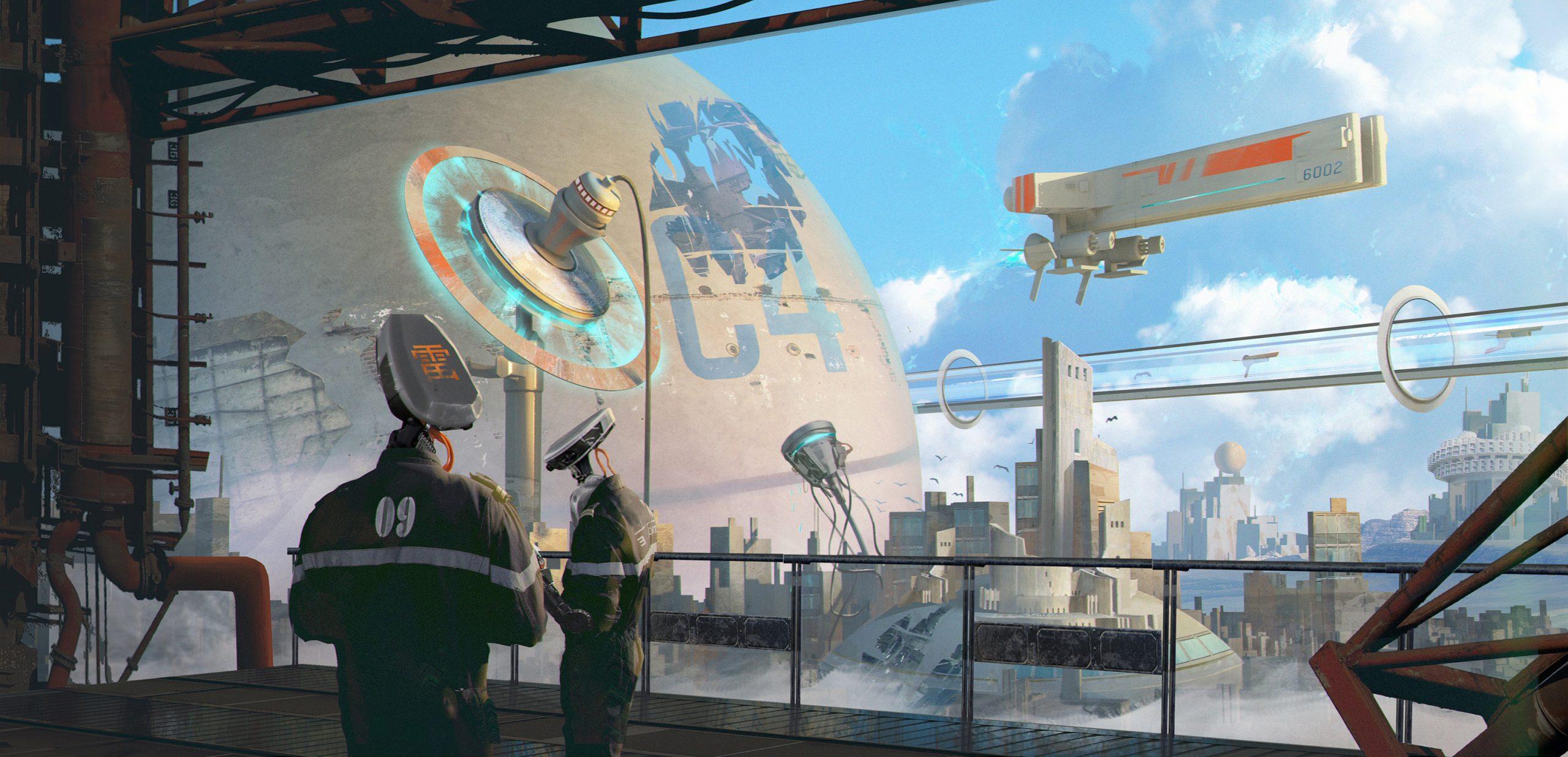 The Sci-Fi & Fantasy Artworks of Arson Liu