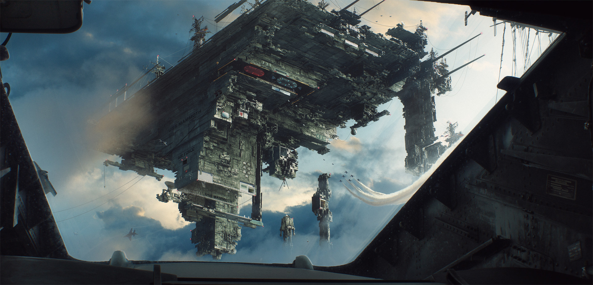 The Epic Sci-Fi Art of Jacek Pilarski