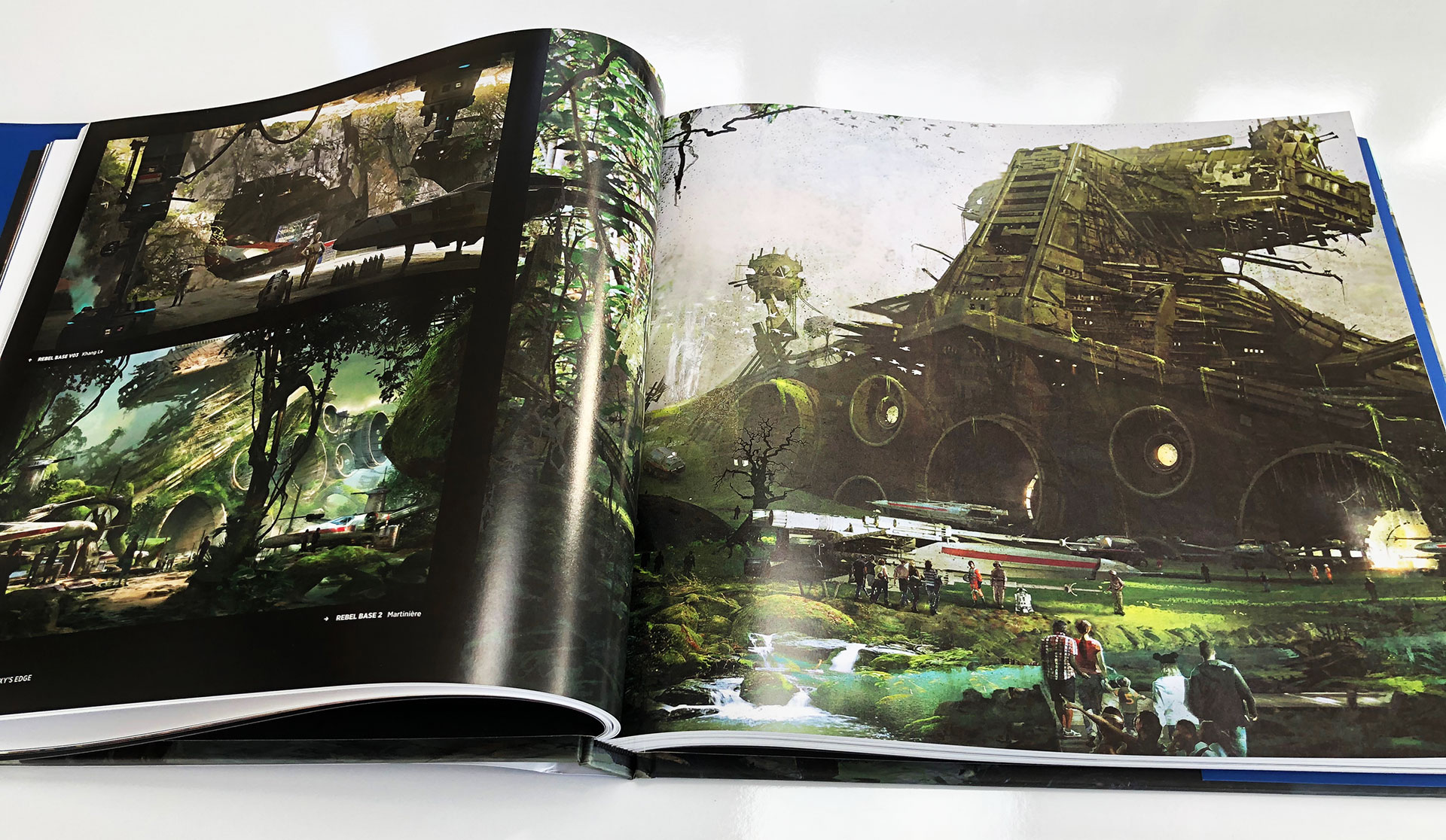 The Art of Star Wars: Galaxy's Edge Book Review