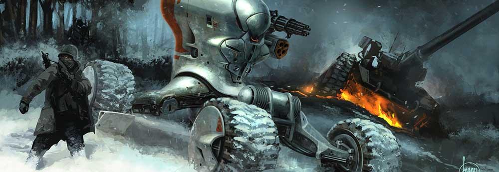 The Superb Sci-Fi Vehicle Designs of John Frye