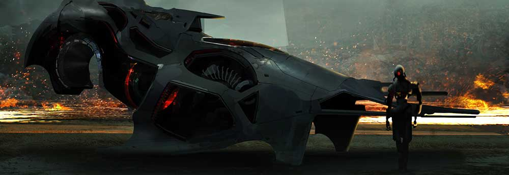 The Sci-Fi Sketches & Paintings of Simon Tosovsky