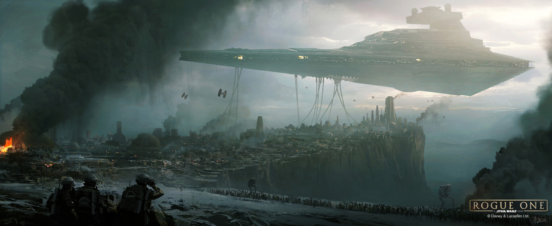 The Amazing Sci-Fi Concept Art of Andrée Wallin