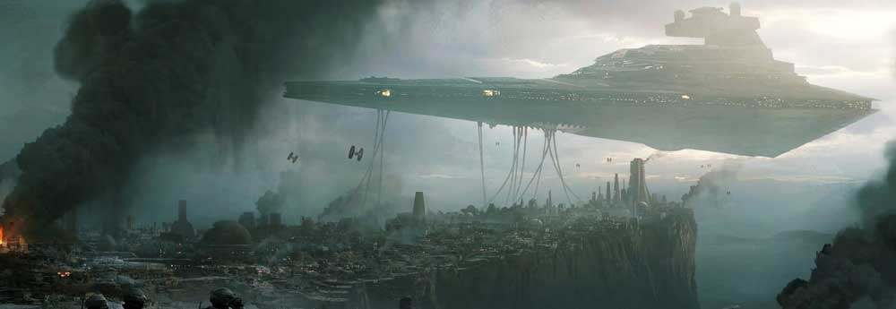 The Stunning Sci-Fi Concept Art of Andrée Wallin