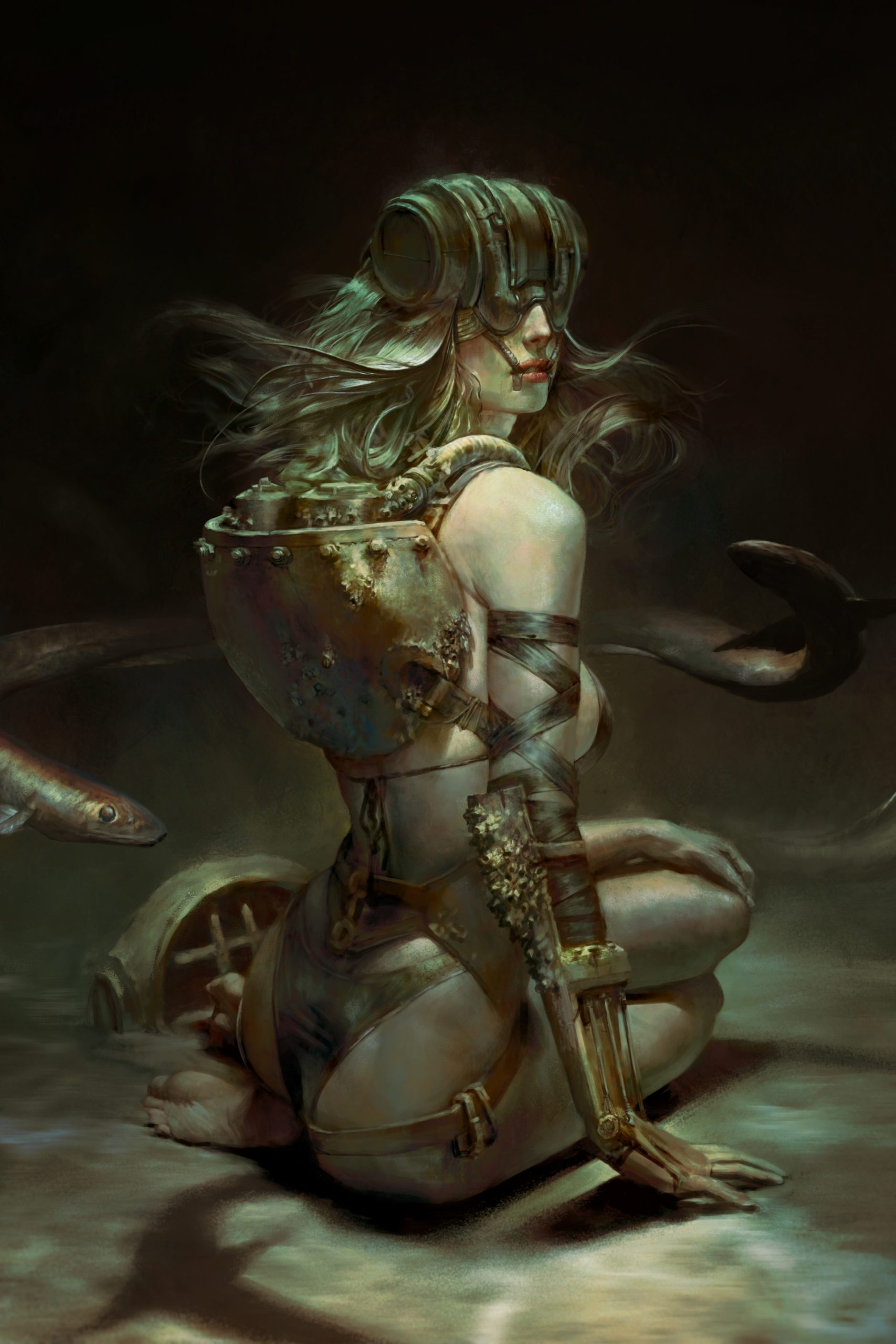 The Stunning Sci-Fi Character Art of Christophe Young