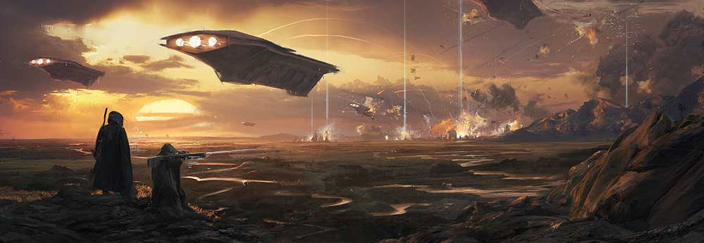 The Sci-Fi & Fantasy Concept Art of Jannis Mayr