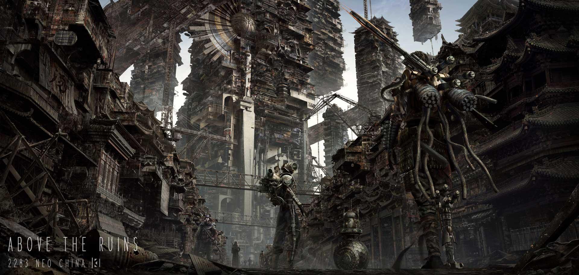 The Stunning Sci-Fi & Fantasy Art of Kuma Wu