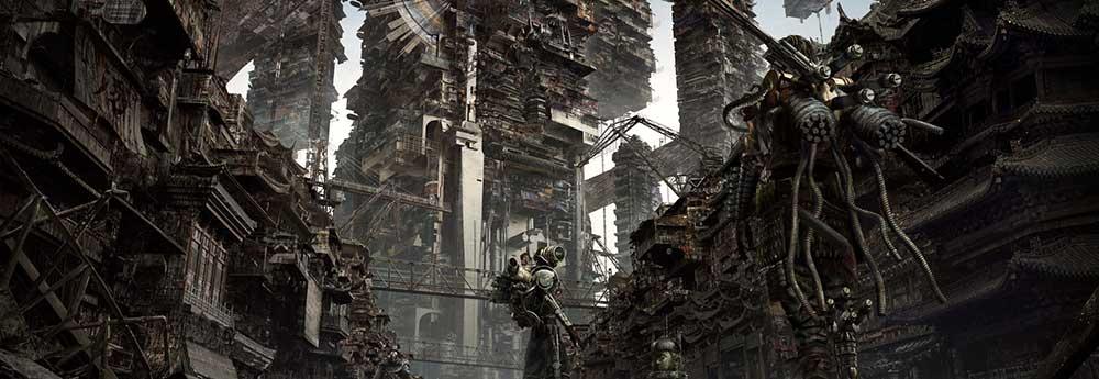 The Stunning Sci-Fi & Fantasy Artworks of Kuma Wu