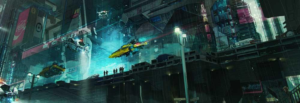 The Super Cool Sci-Fi Artworks of Brad Wright