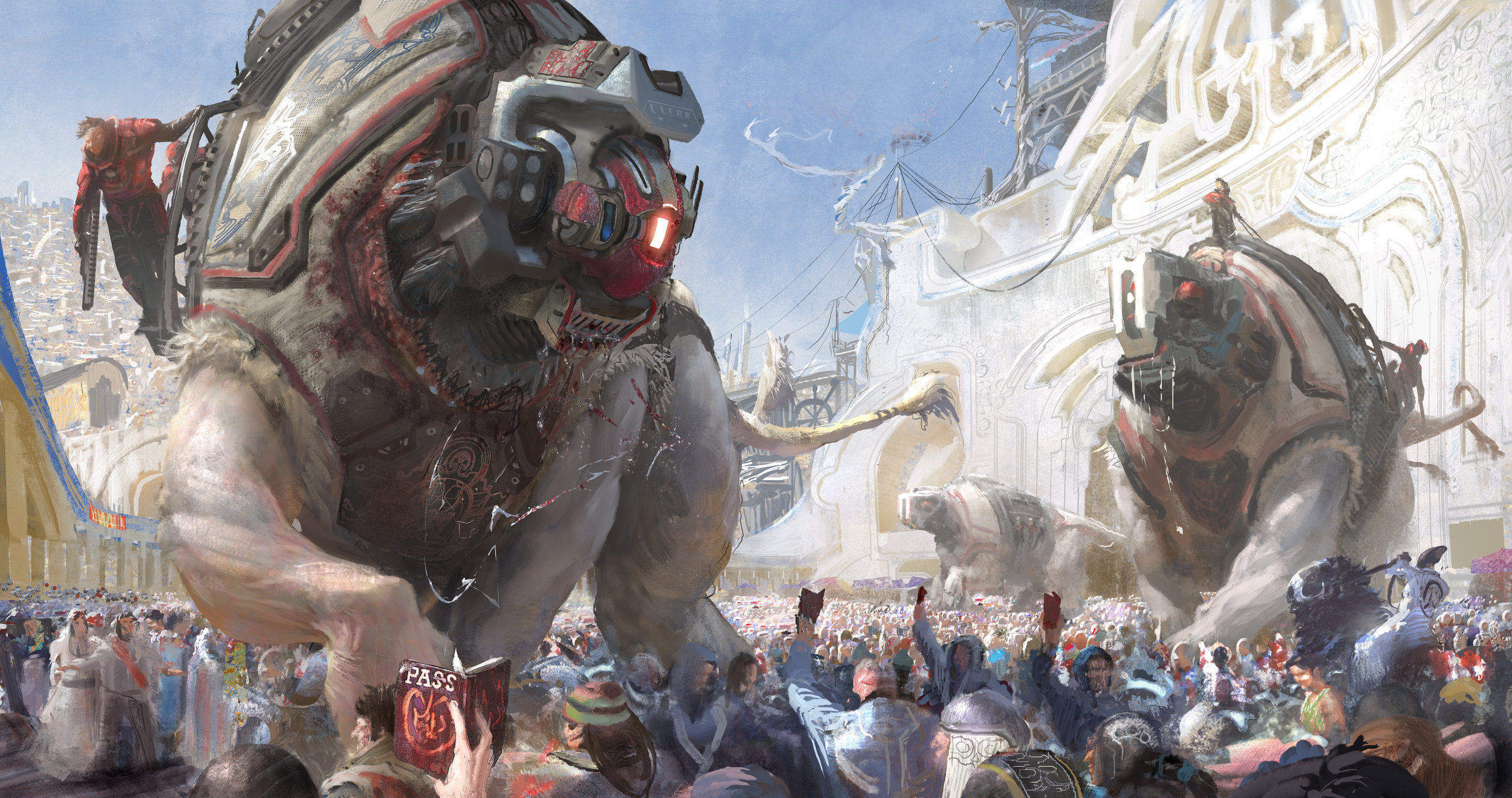 The Exquisite Fantasy & Sci-Fi Art of Campbell White