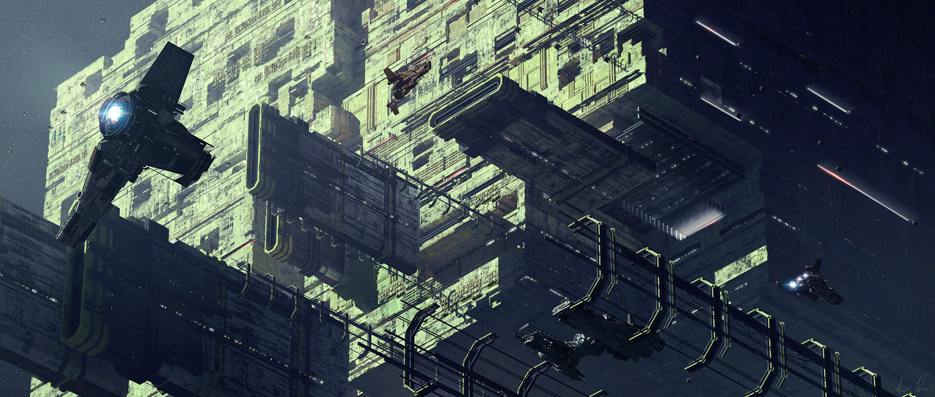 The Sci-Fi Concept Artwork of Kamen Anev