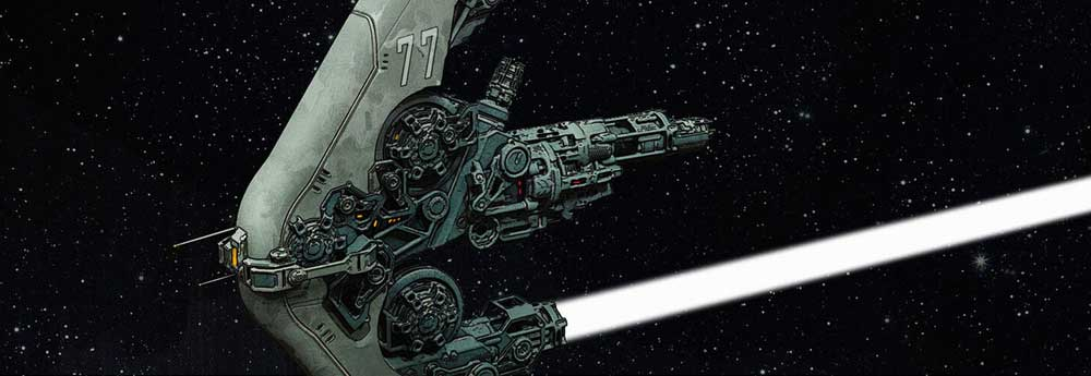 The Sci-Fi Character & Vehicle Designs of Mack Sztaba