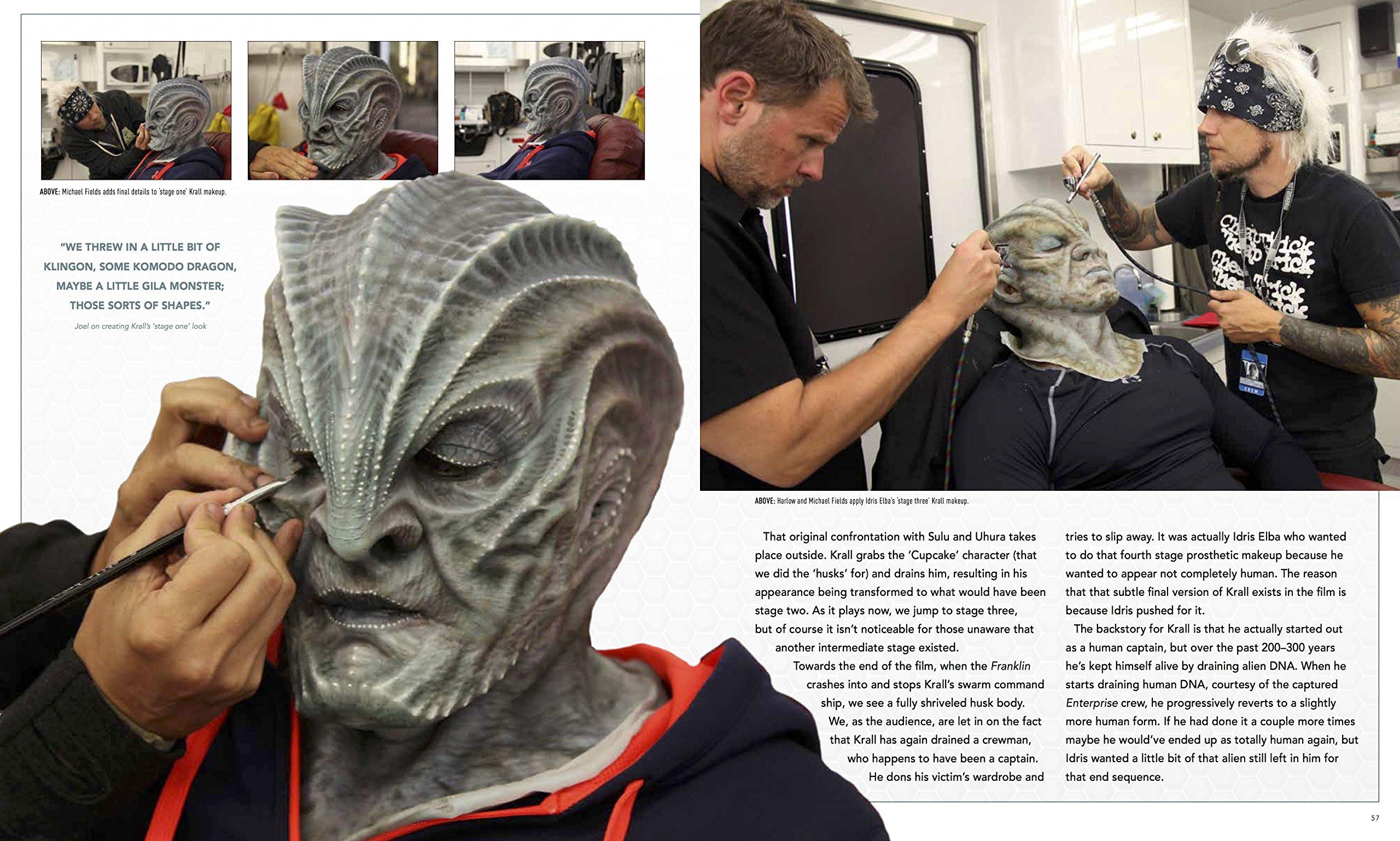 Star Trek Beyond - The Makeup Artistry of Joel Harlow Book Review