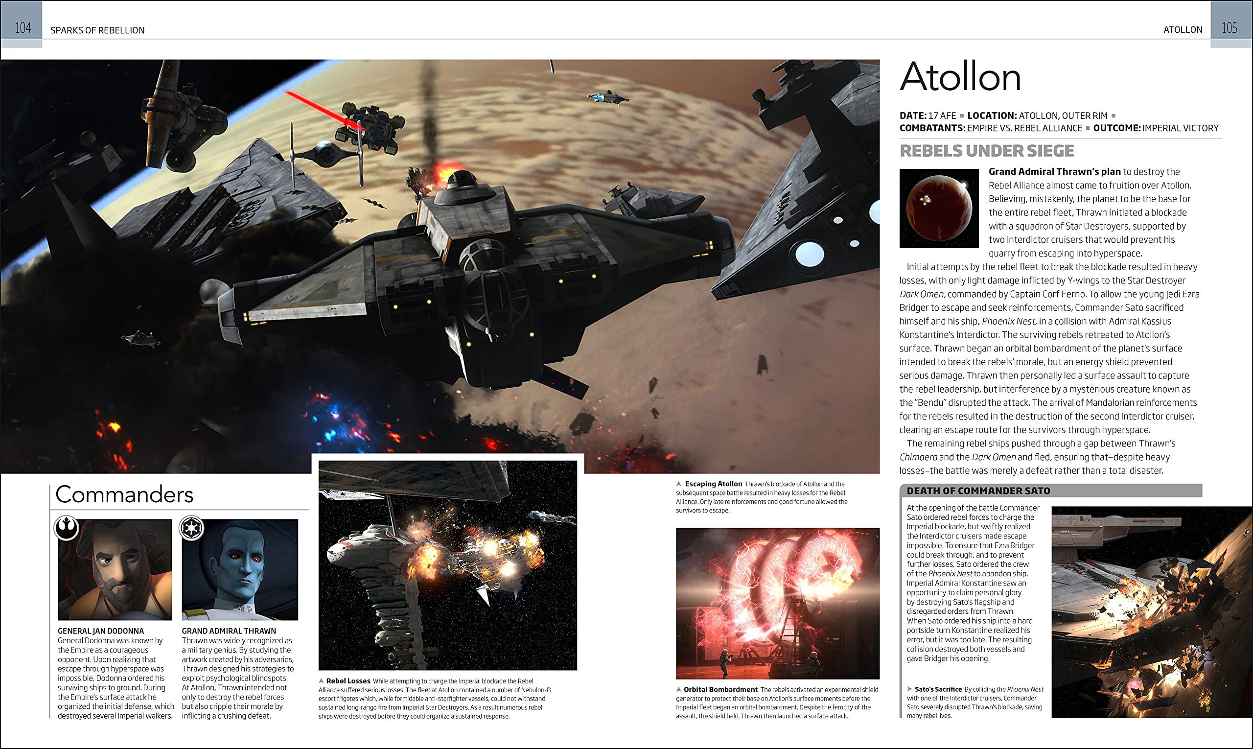 Star Wars Battles That Changed the Galaxy Book Inside Pics