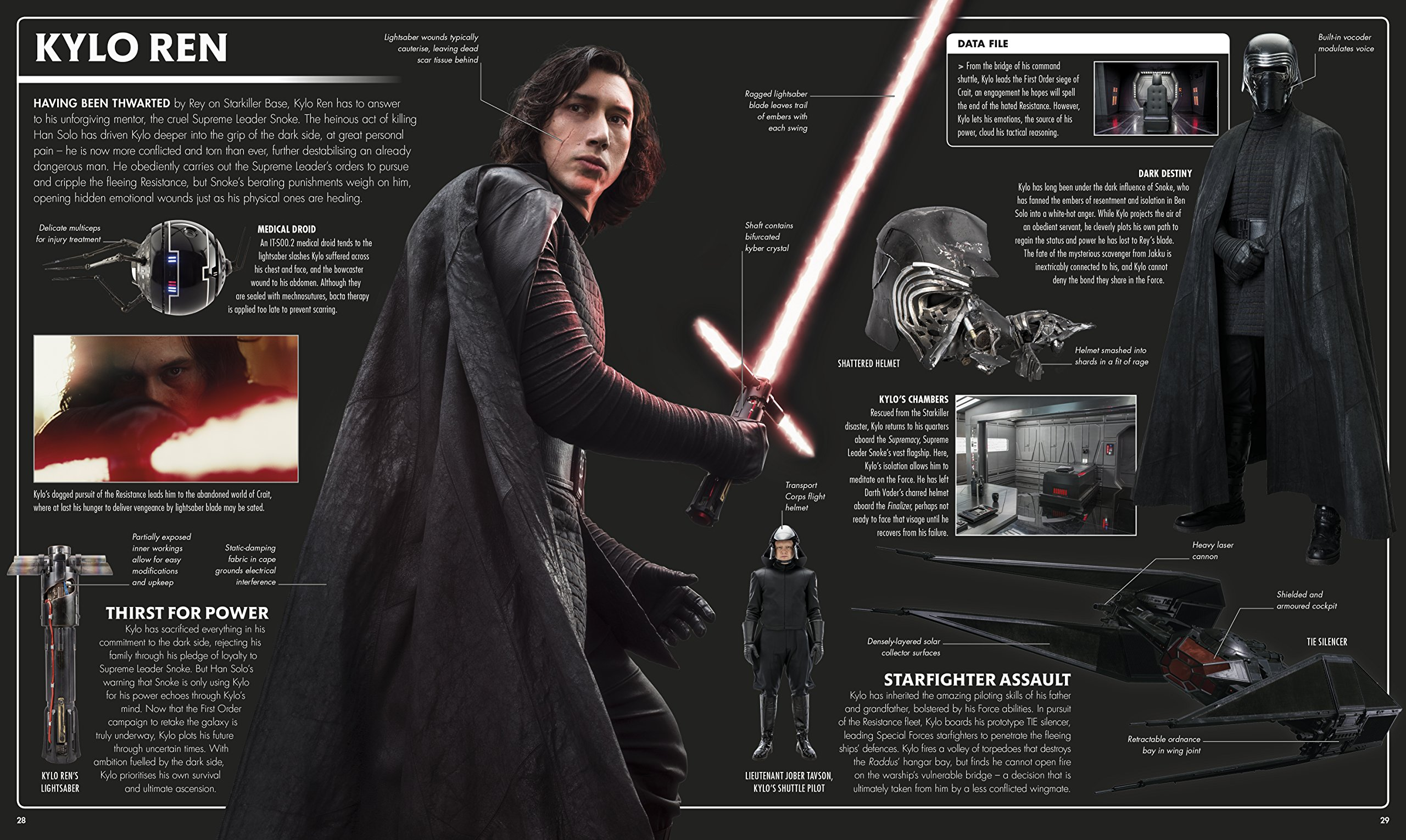 Star Wars The Last Jedi - The Visual Dictionary Book Review