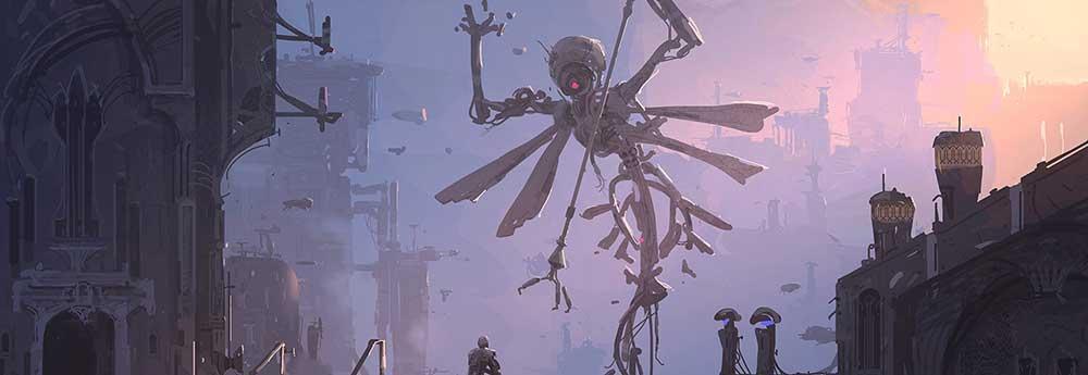 The Digital Sci-Fi & Fantasy Art of Lee B