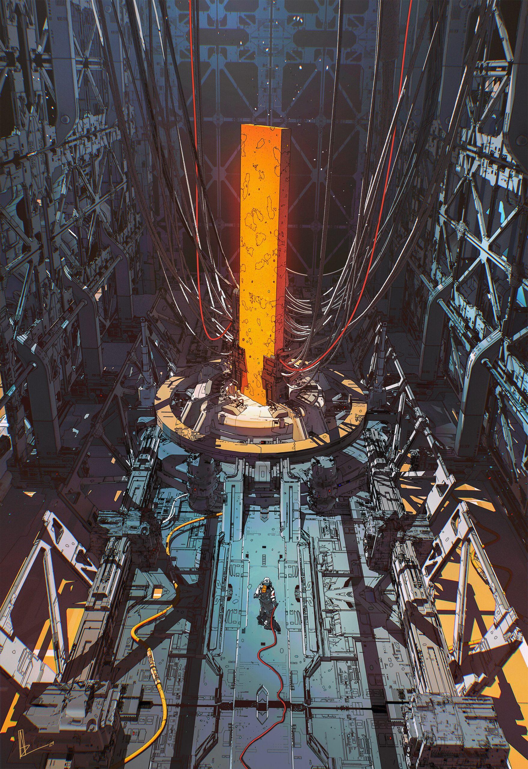 The Sci-Fi Sketches & Artworks of Amir Zand