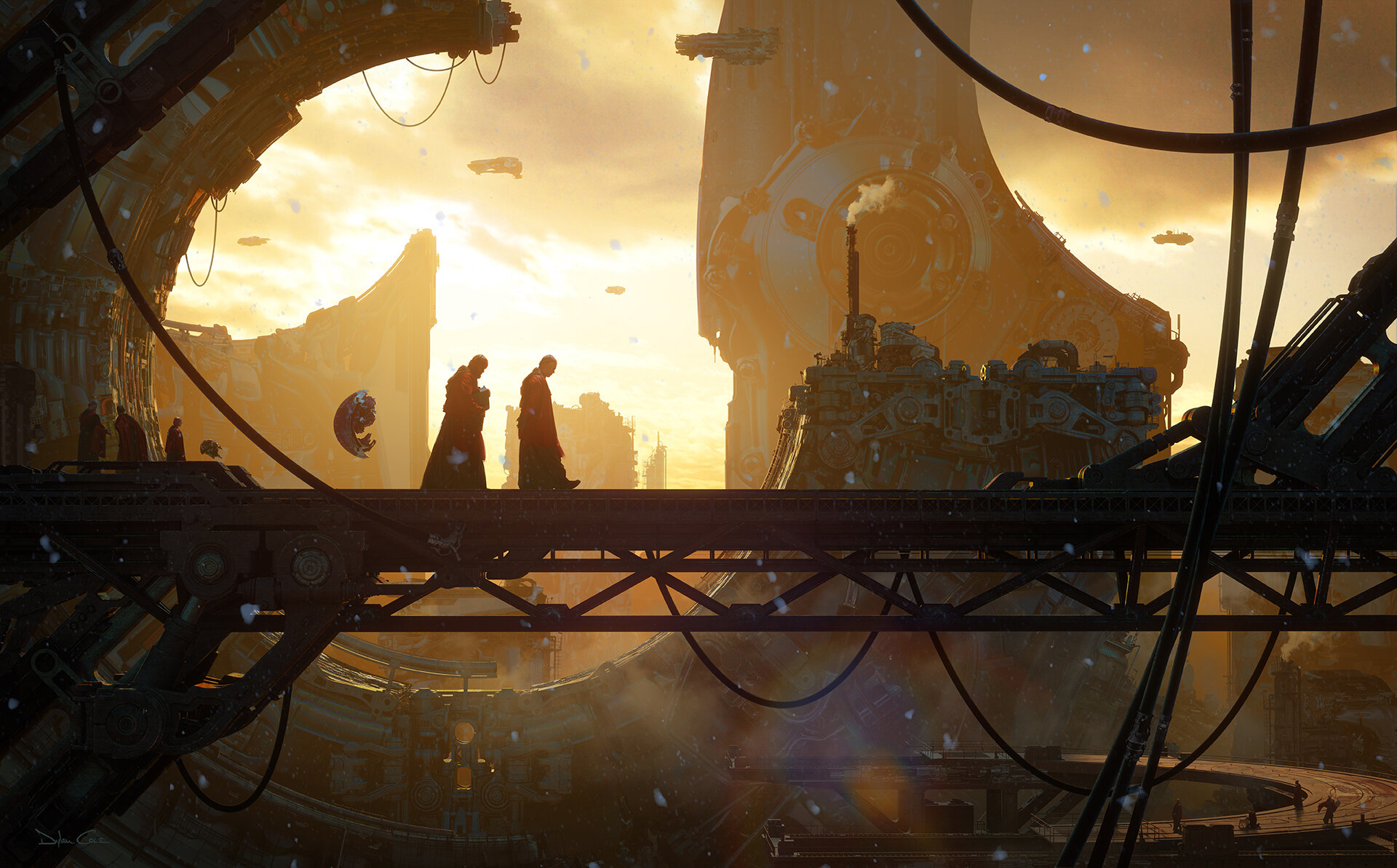 The Stunning Sci-Fi Concept Art of Dylan Cole