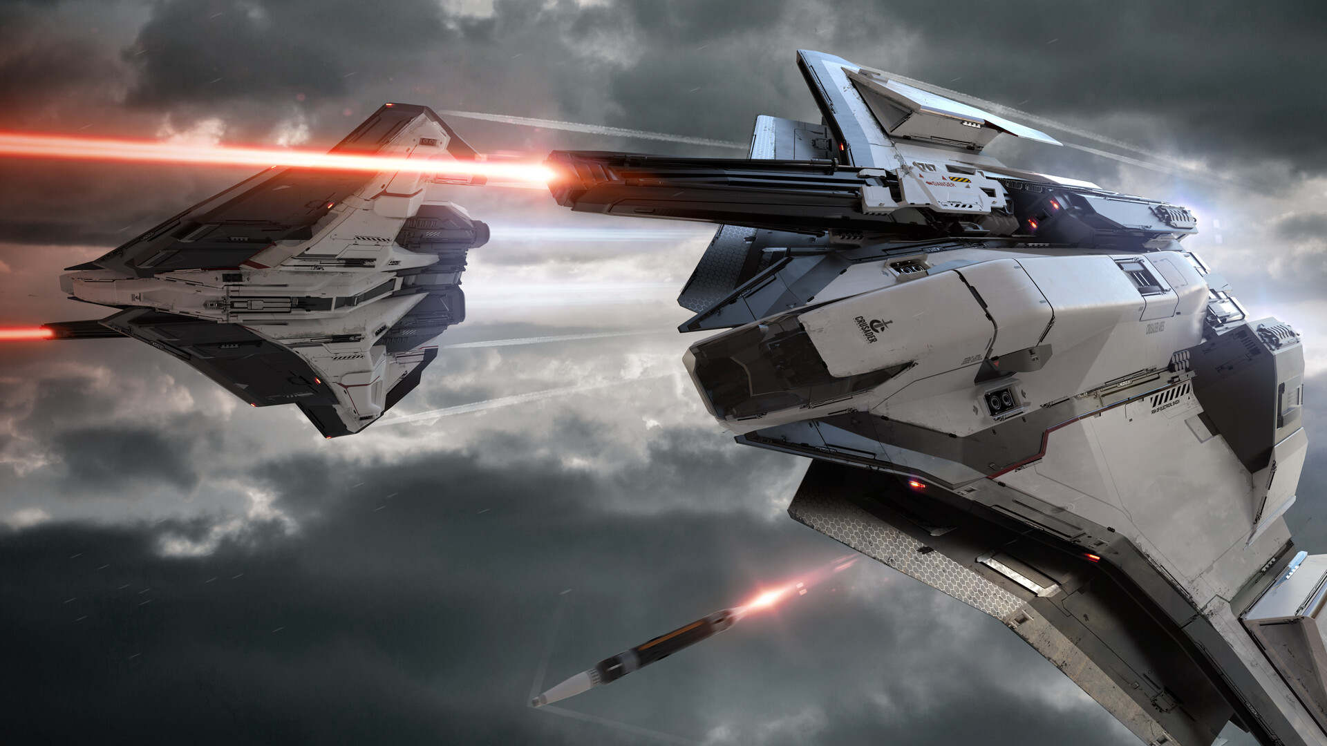 Superb Star Citizen Concept Art by Gavin Rothery