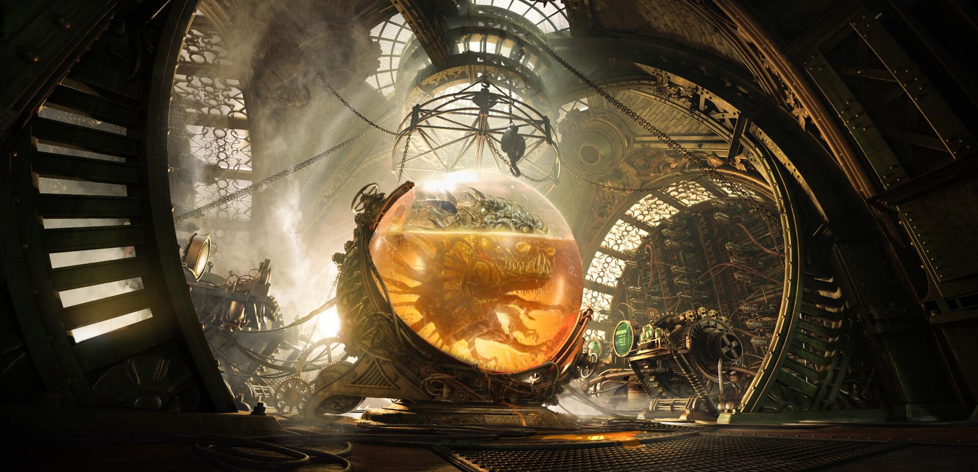 The Cinematic Sci-Fi Art of Guillaume Berthoumieu