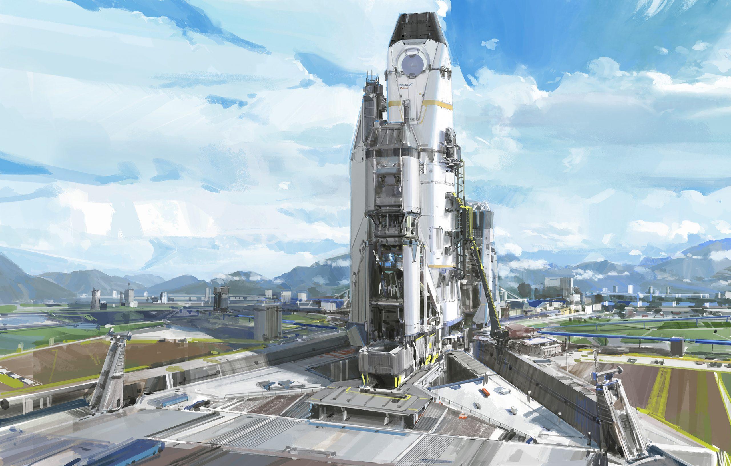 The Fantastic Sci-Fi Artworks of Mark Li