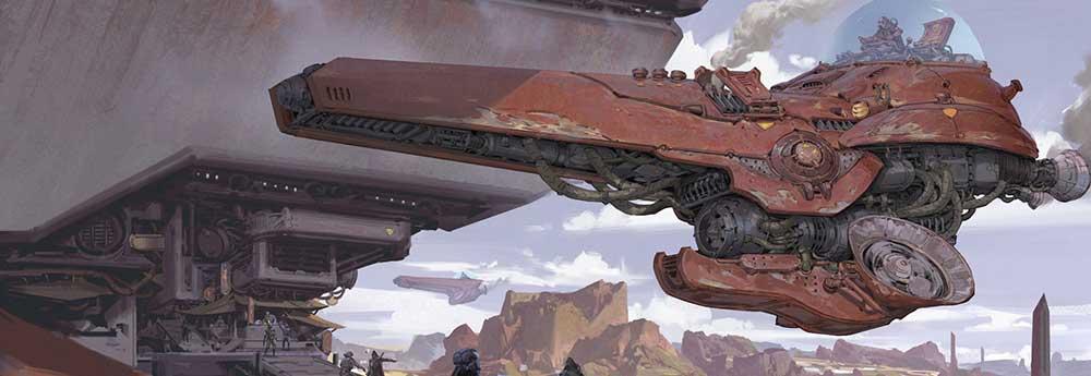 The Amazing Sci-Fi & Fantasy Art of G Liulian