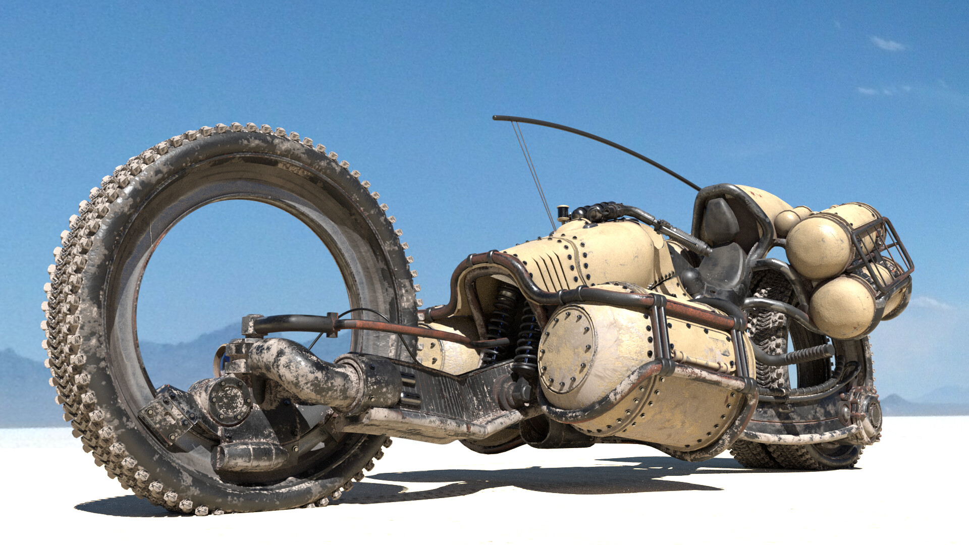 The Cool Sci-Fi Vehicle Designs of Till Freitag