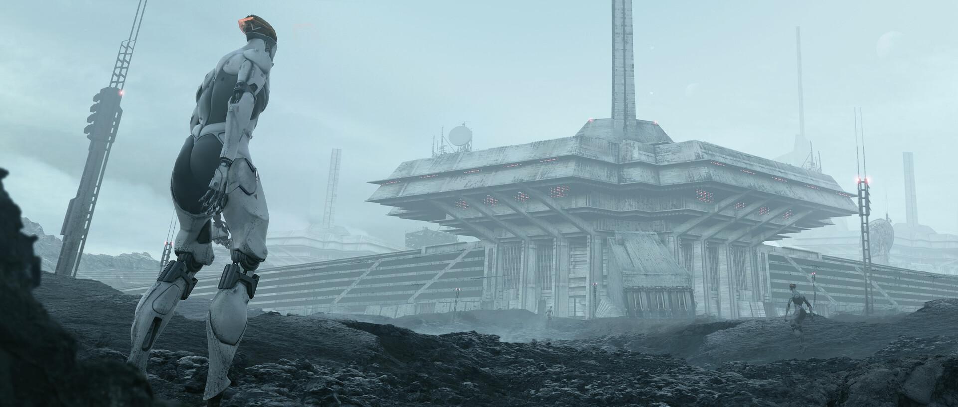 The Cinematic Sci-Fi Art of MV8