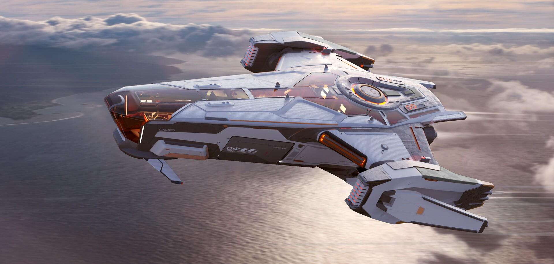 The Sleek Sci-Fi Designs of Andrian Luchian