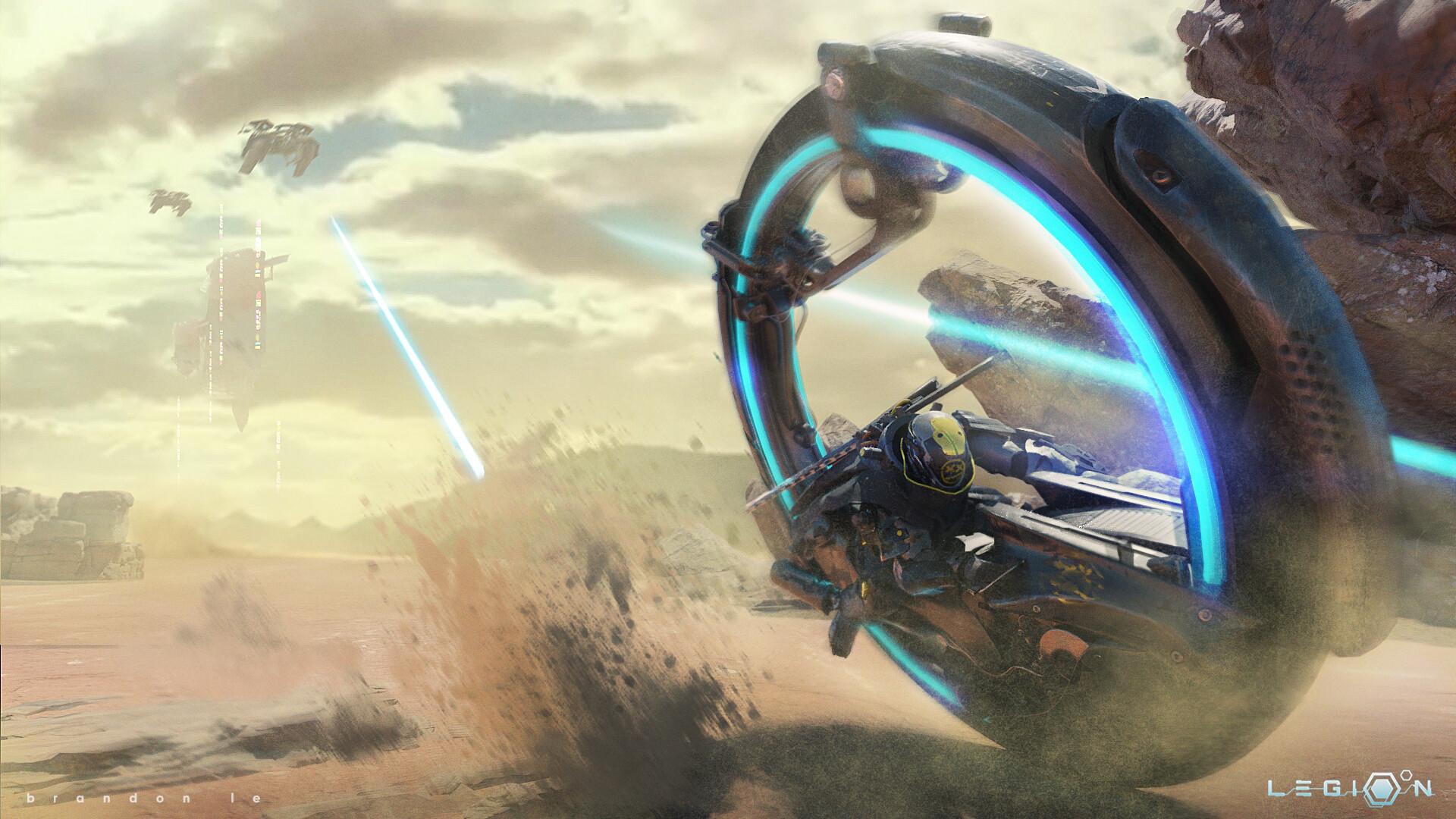 The Superb Science Fiction Art of Brandon Le