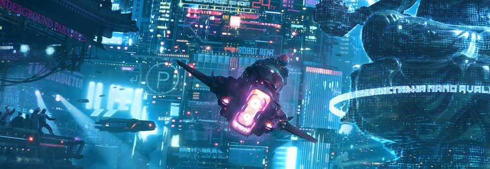 The Epic Sci-Fi Artworks of Daniel Liang