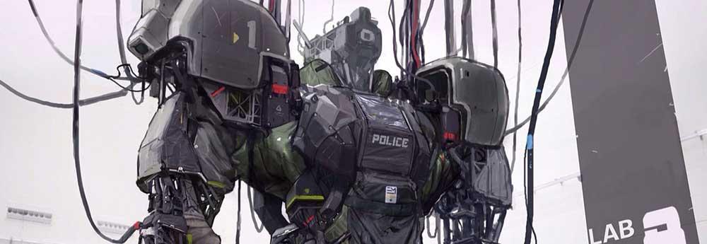 The Futuristic Sci-Fi Mech Designs of Shinku Kim
