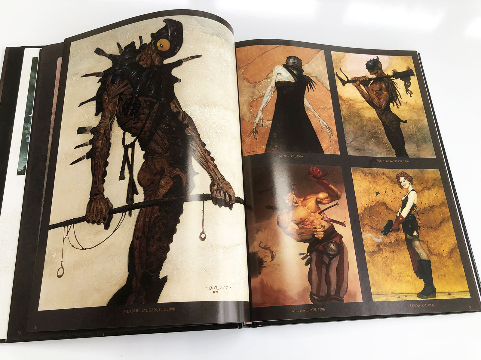 The Art of Brom Fantasy Art Book Review