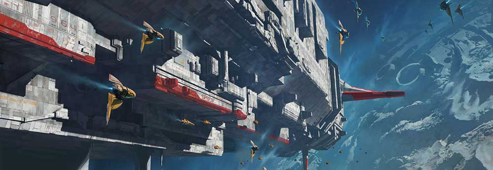 The Magnificent Sci-Fi Artworks of Aaron Limonick