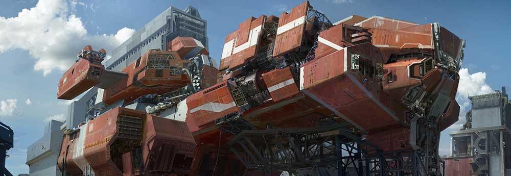 The Stunning Futuristic Sci-Fi Creations of Allen Wei